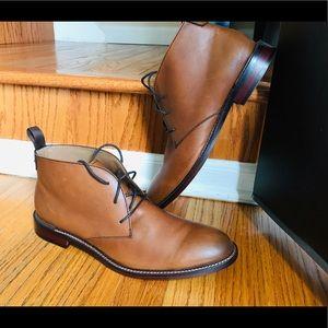 Nordstrom Mens Shop- Leather dress boots U.S. 9